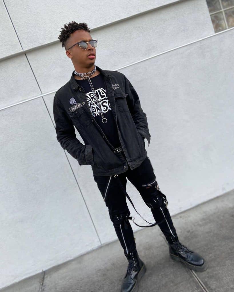 Punk Boy Grunge Outfit