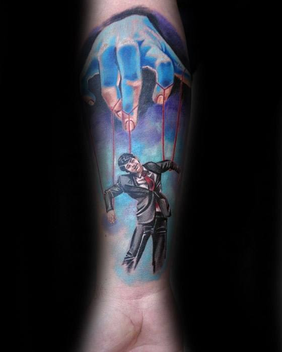 Puppet Tattoo Ideas On Guys