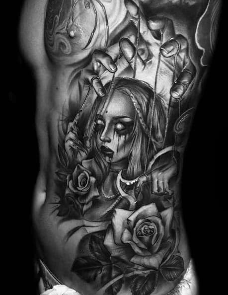 60 puppet tattoo designs for men string ink ideas for Ctrl tattoo meaning