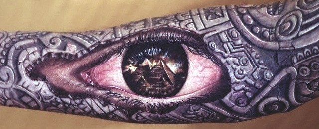 40 Pyramid Tattoo Designs For Men – Ink Ideas With A Higher Purpose