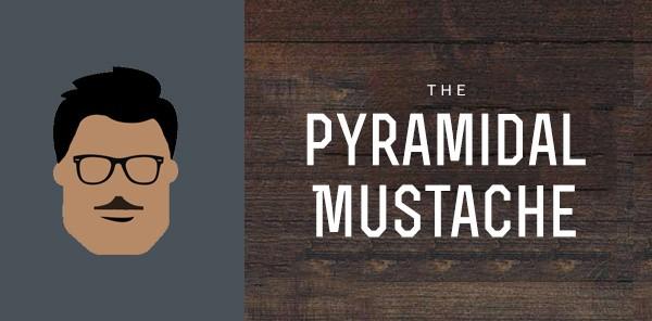 Pyramidal Mustache Styles