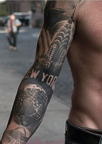 Top 100 best sleeve tattoos for men cool designs and ideas for Male tattoo ideas