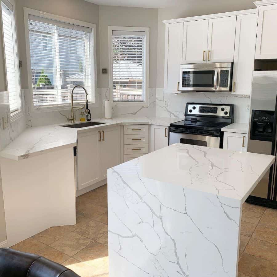 quartz kitchen tile backsplash ideas djanthony