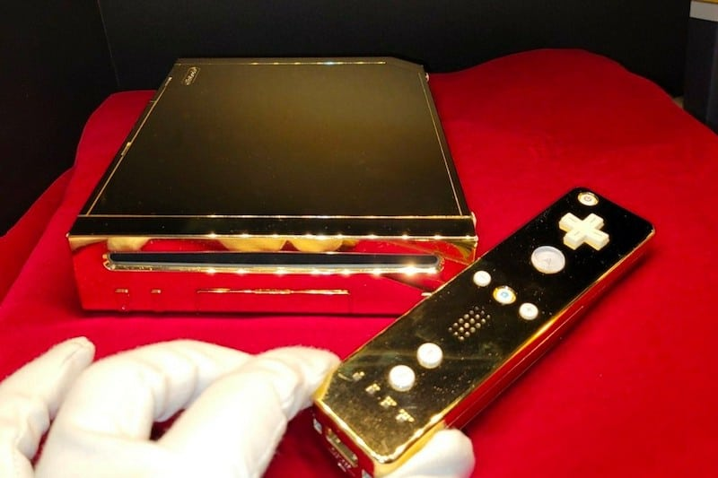 The Queen's 24K Gold Nintendo Wii Is Up for Sale