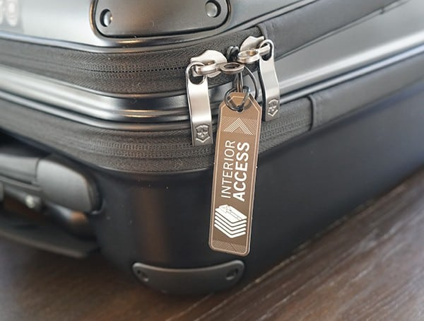 Quick Access Zippers Victorinox Spectra 2 0 Dual Access Global Carry On