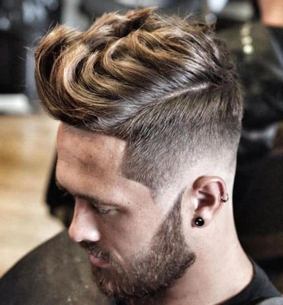 Quiff Fade Haircut