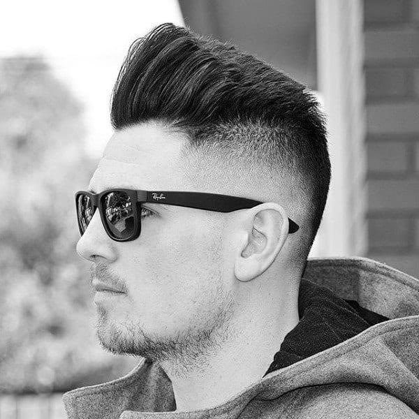 Quiff Mens Skin Fade Haircut Inspiration