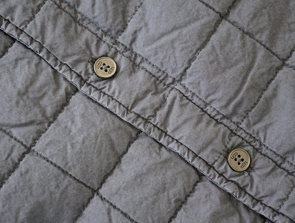 Quilted Cotton Poplin Trent Quilted Shirt Jacket For Men