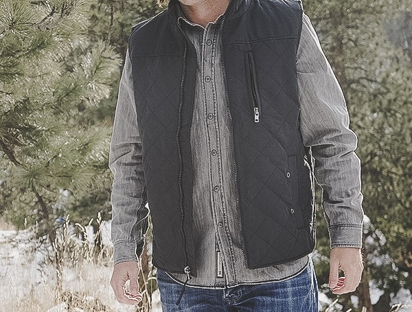 Quilted Onyx Mens Dakota Grizzly Vic Vest Review Outdoor Field Test