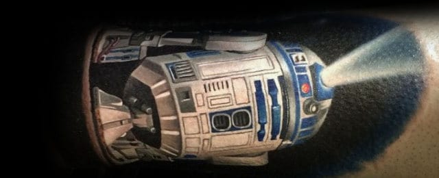 R2d2 Tattoo Designs For Men