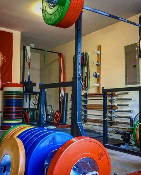 Rack Garage Gym Ideas