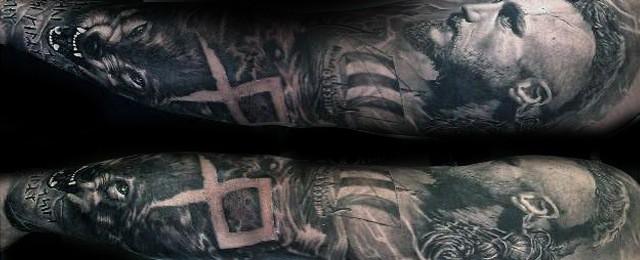 Ragnar Tattoo Designs For Men