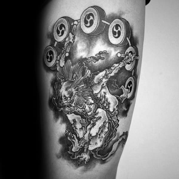 Raijin Tattoos For Gentlemen