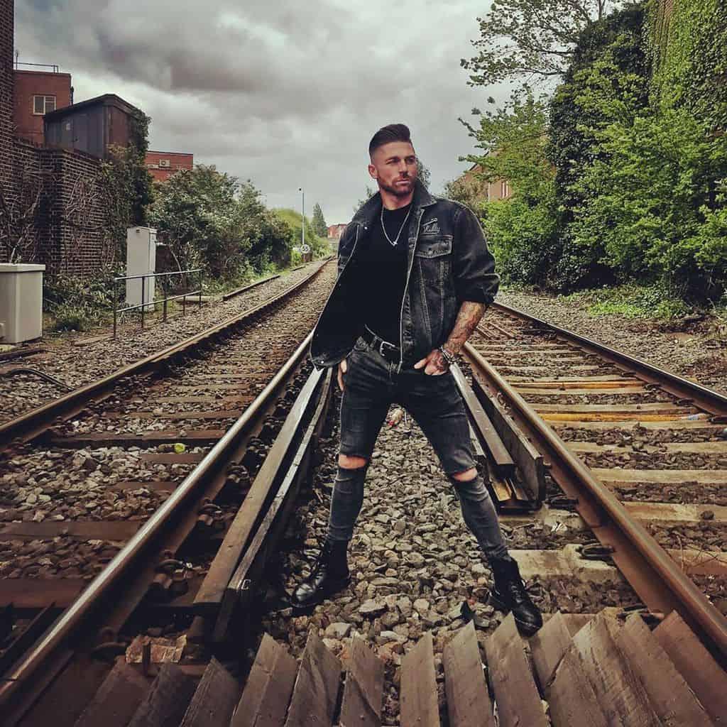 Rail Way Denim Jacket Outfit