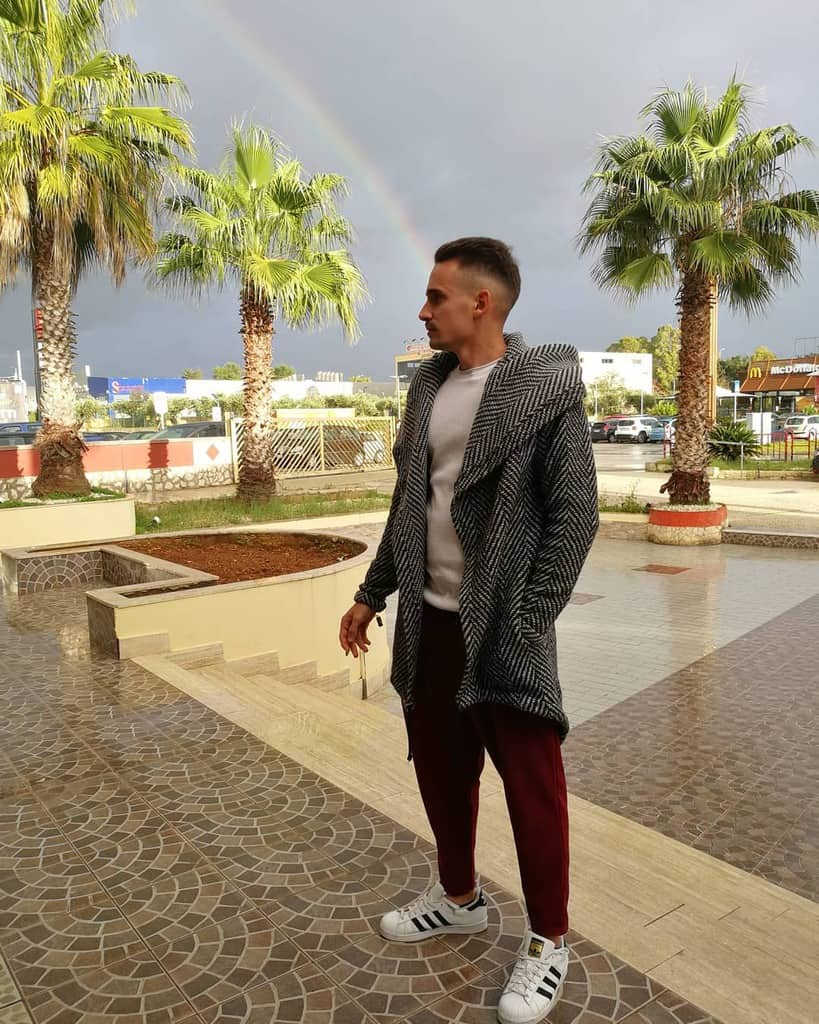 Rainbow Mens Fashion Style