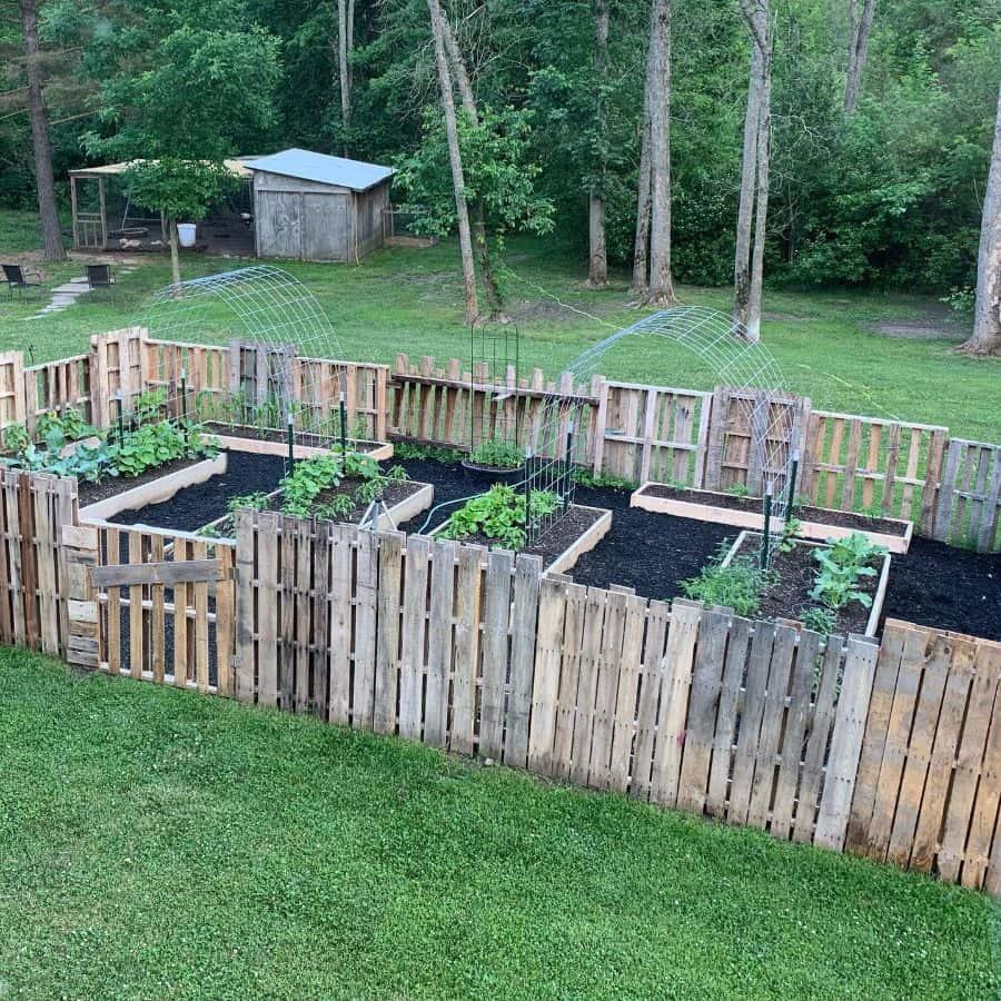 raised bed plant box pallet garden ideas jessica.esch
