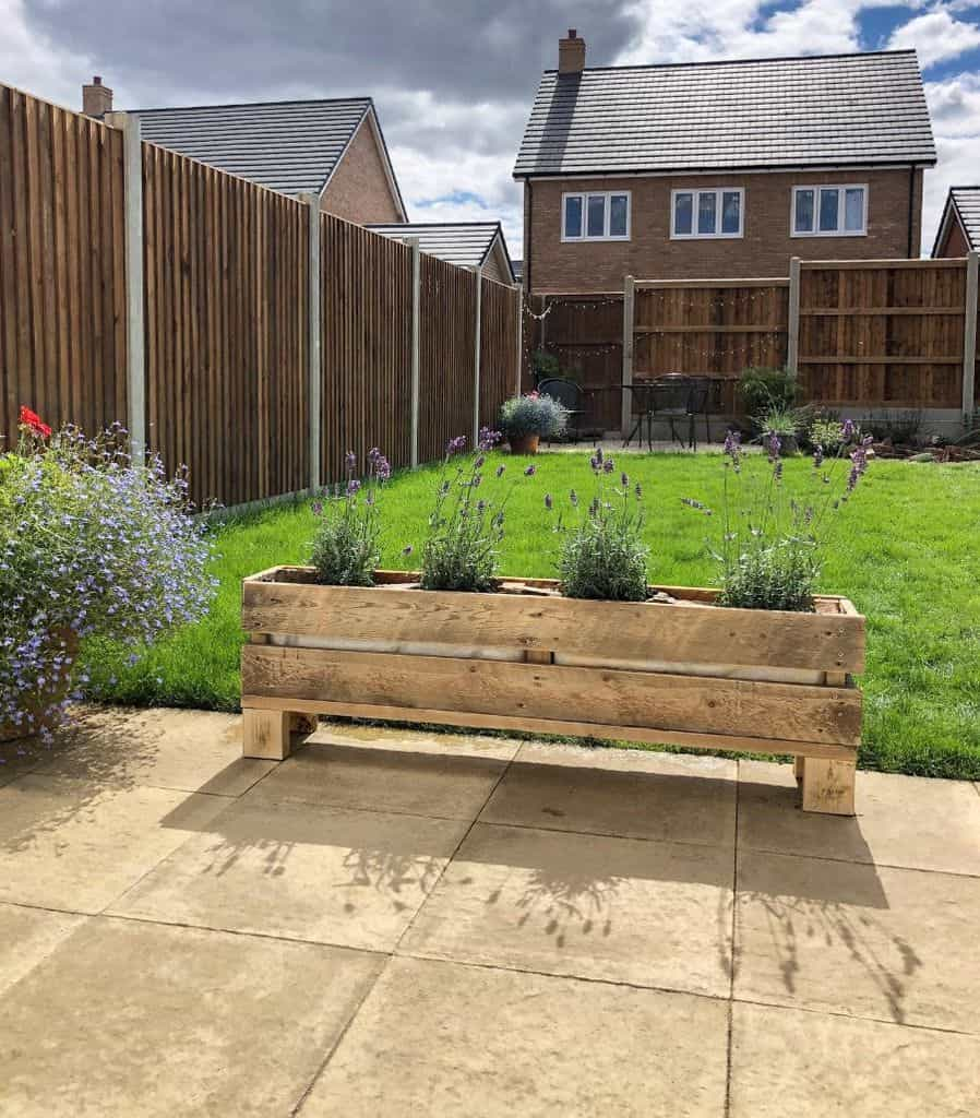 raised bed plant box pallet garden ideas new.house.home
