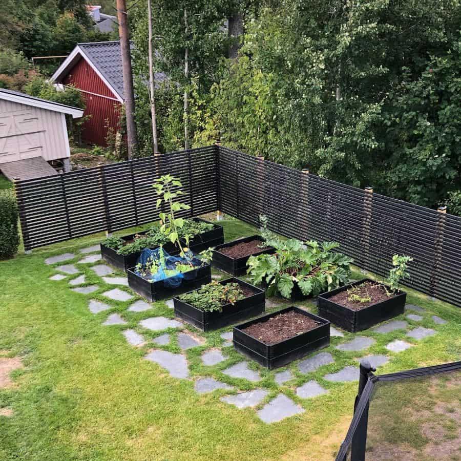 raised bed plant box pallet garden ideas sandraloreus