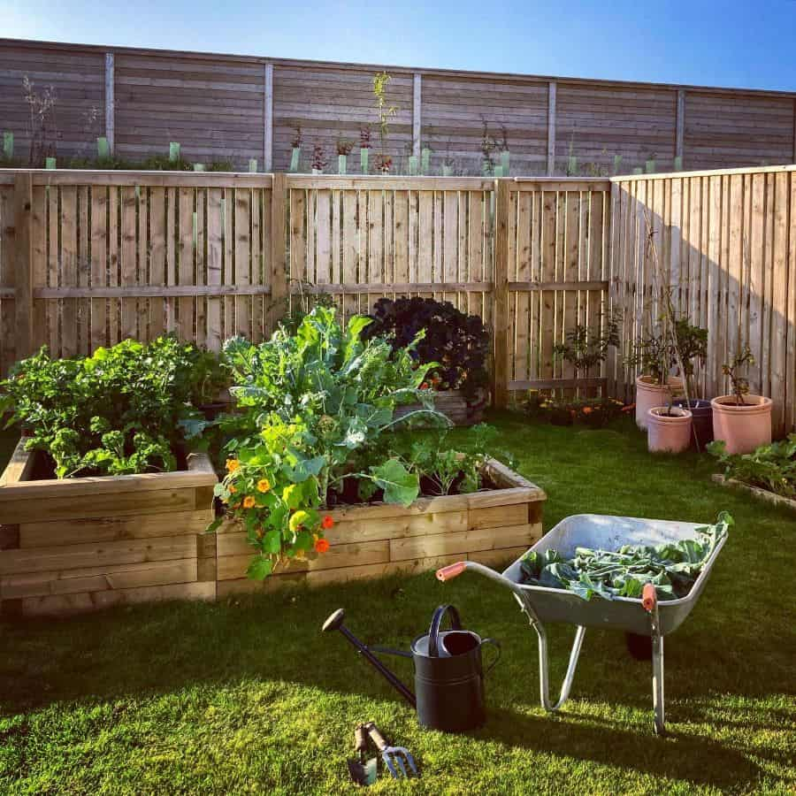 raised bed vegetable garden ideas growing_at_no.7
