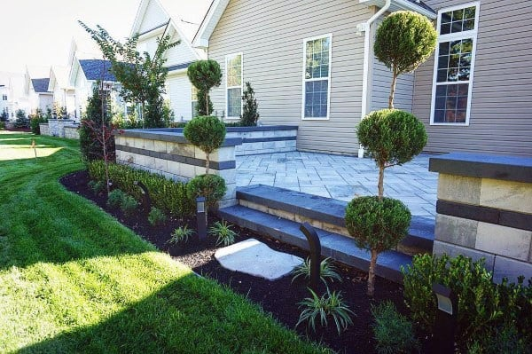 60 Concrete Patio Ideas - Unique Backyard Retreats on Raised Concrete Patio Ideas id=14393