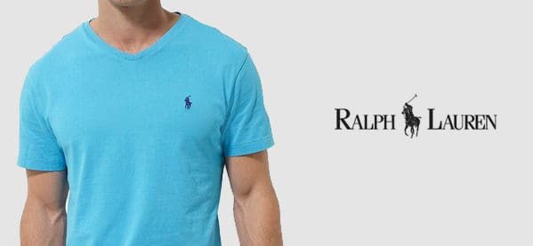 Ralph Lauren Polo V Neck T-Shirts For Men