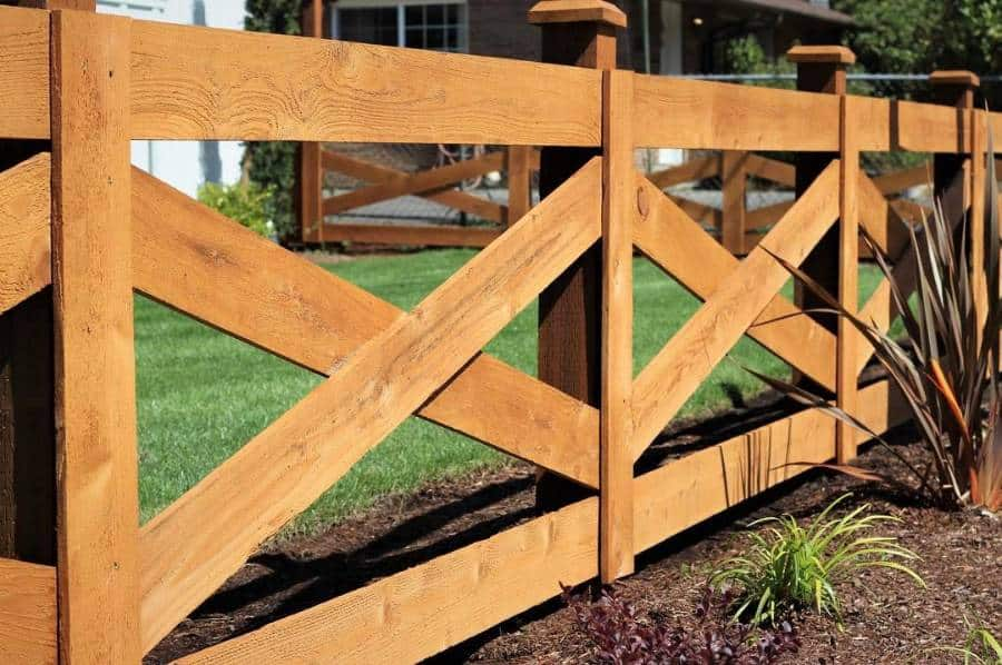 Ranch Country Wood Fence Ideas Enforthomes