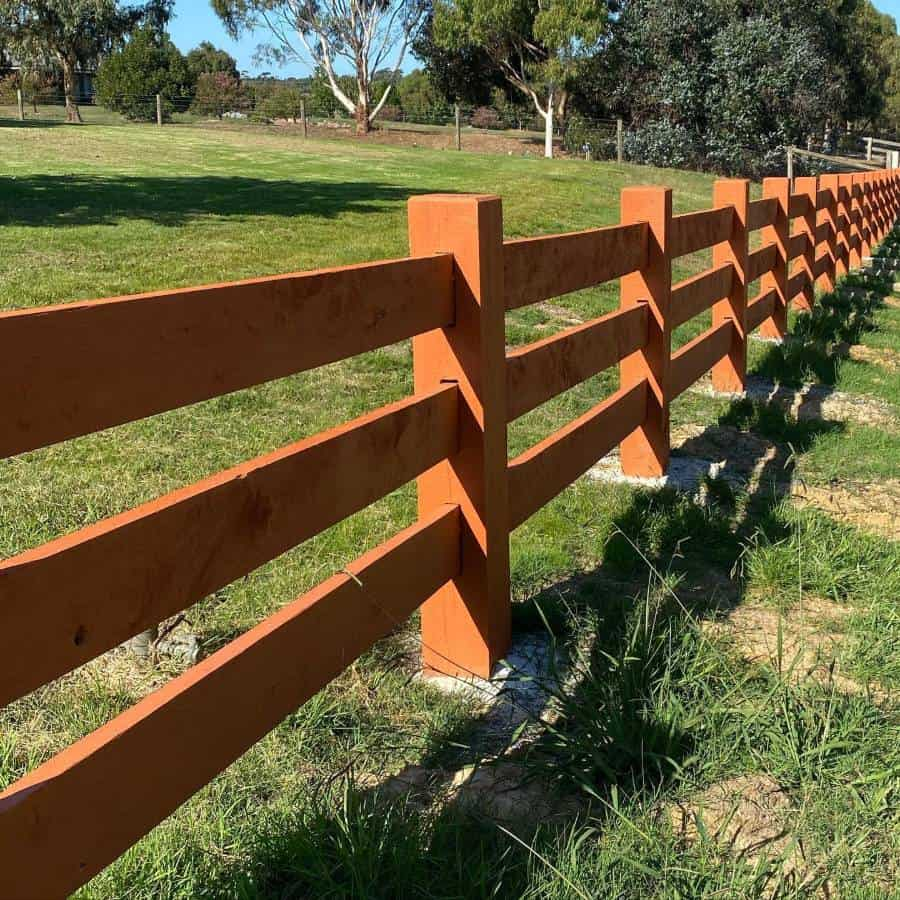 Ranch Country Wood Fence Ideas Thewoodproject