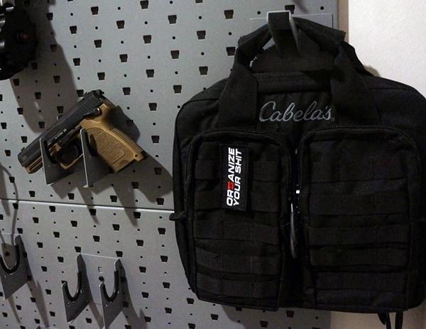 Range Pistol Bag In Gun Vault
