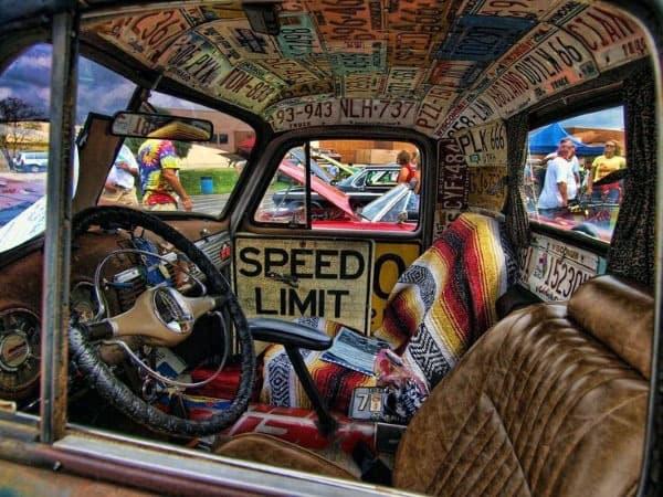 Top 50 Best Rat Rod Interior Ideas Retro Automotive Designs