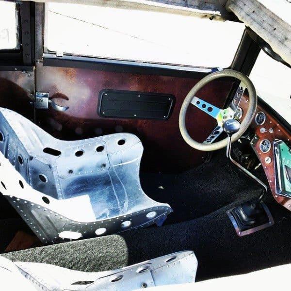 Rat Rod Interior Custom