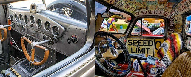 Top 50 Best Rat Rod Interior Ideas – Retro Automotive Designs