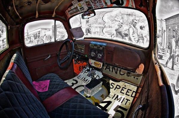 Rat Rods Seat Interior Ideas