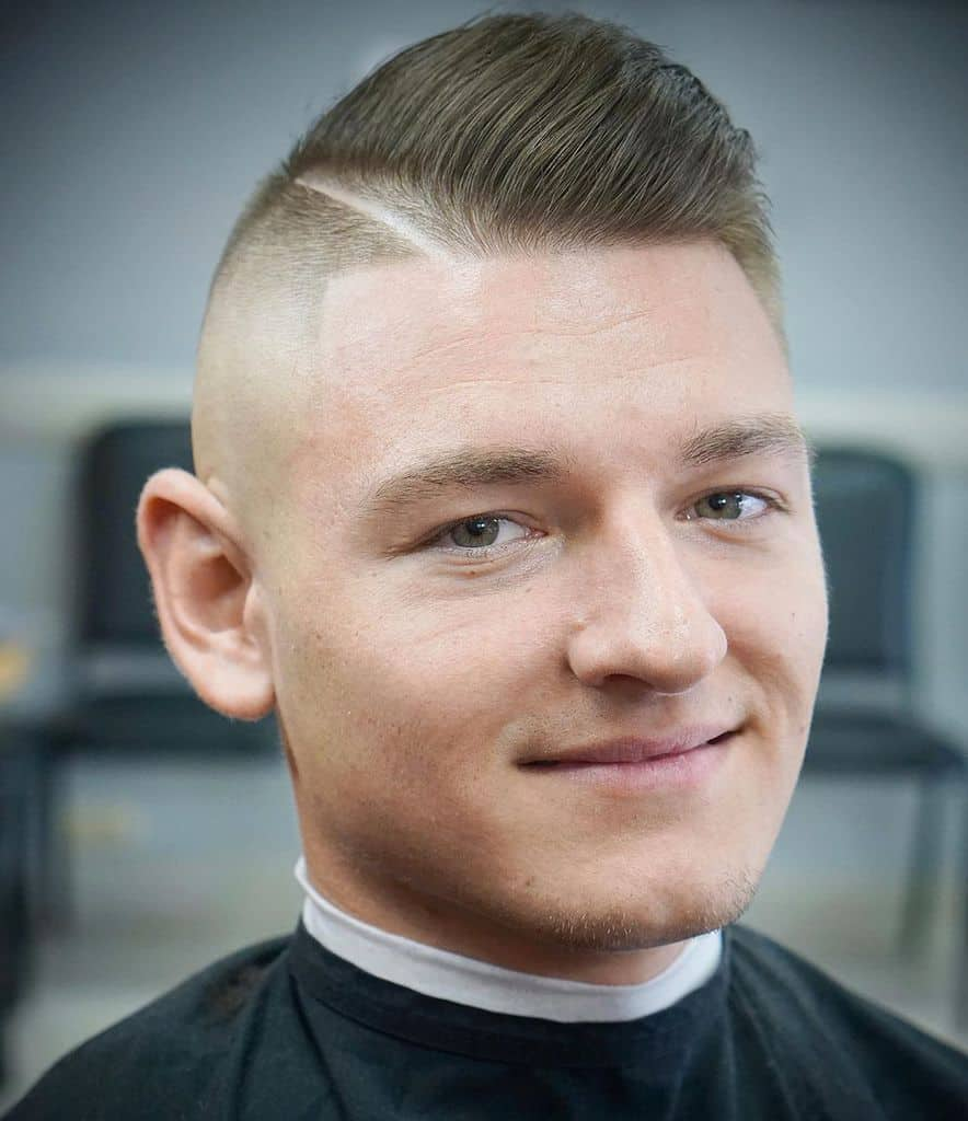 Razor Lining Hair Cut