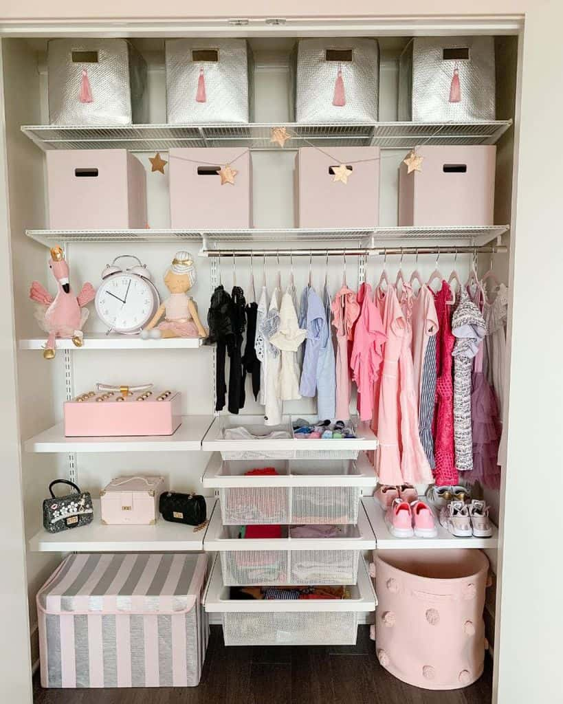 reach-in closet bedroom closet ideas ashleylovinginteriors