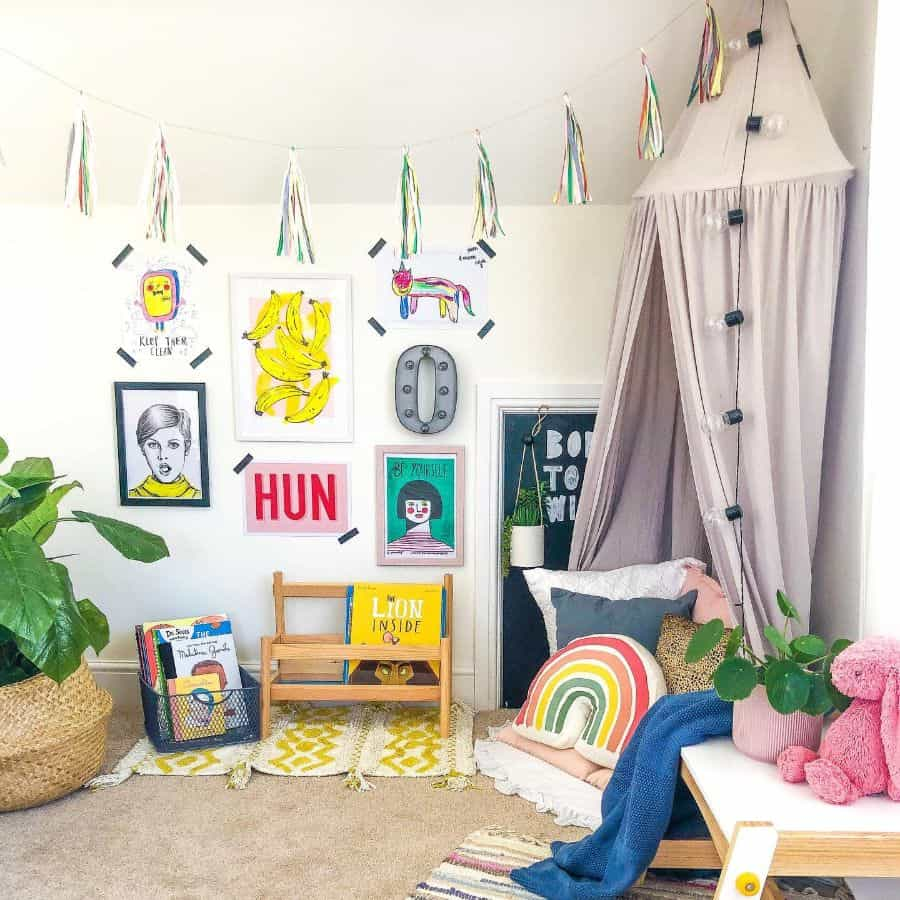 Reading Nook Corner Playroom Ideas The Cheerful Abode