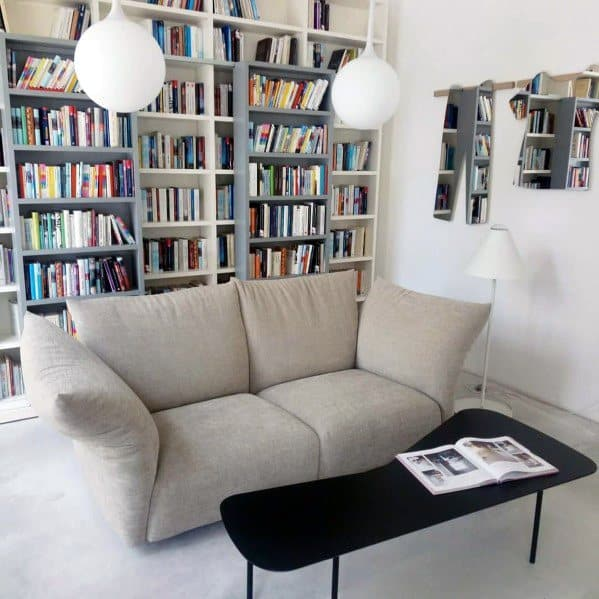 Reading Room Ideas Floor To Ceiling Bookshelves