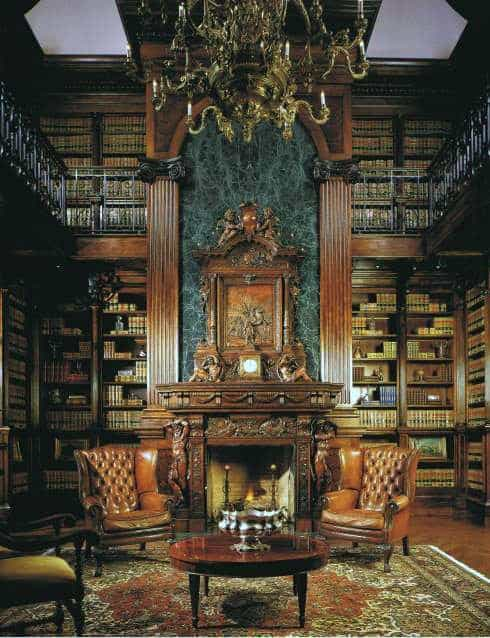 Reading Room Traditional Home Library