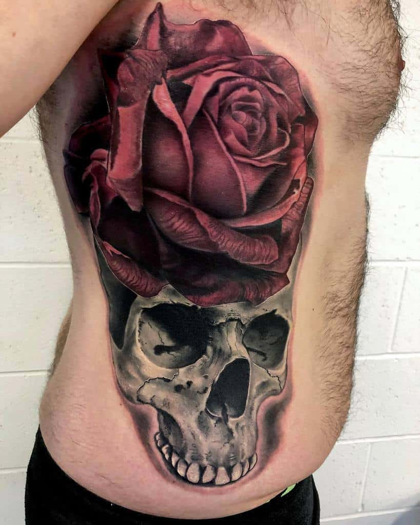 realism-skull-and-rose-rib-tattoo-i_am_blackwood
