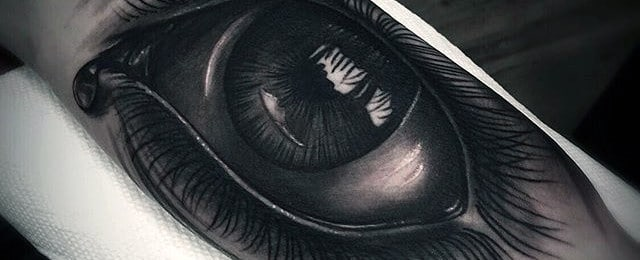 Realistic Eye Tattoo Designs For Men