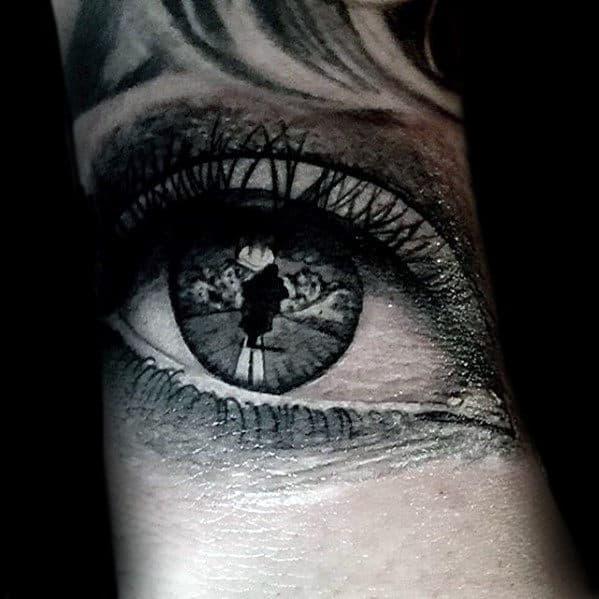 Tattoo Ideas Eyes: 50 Realistic Eye Tattoo Designs For Men