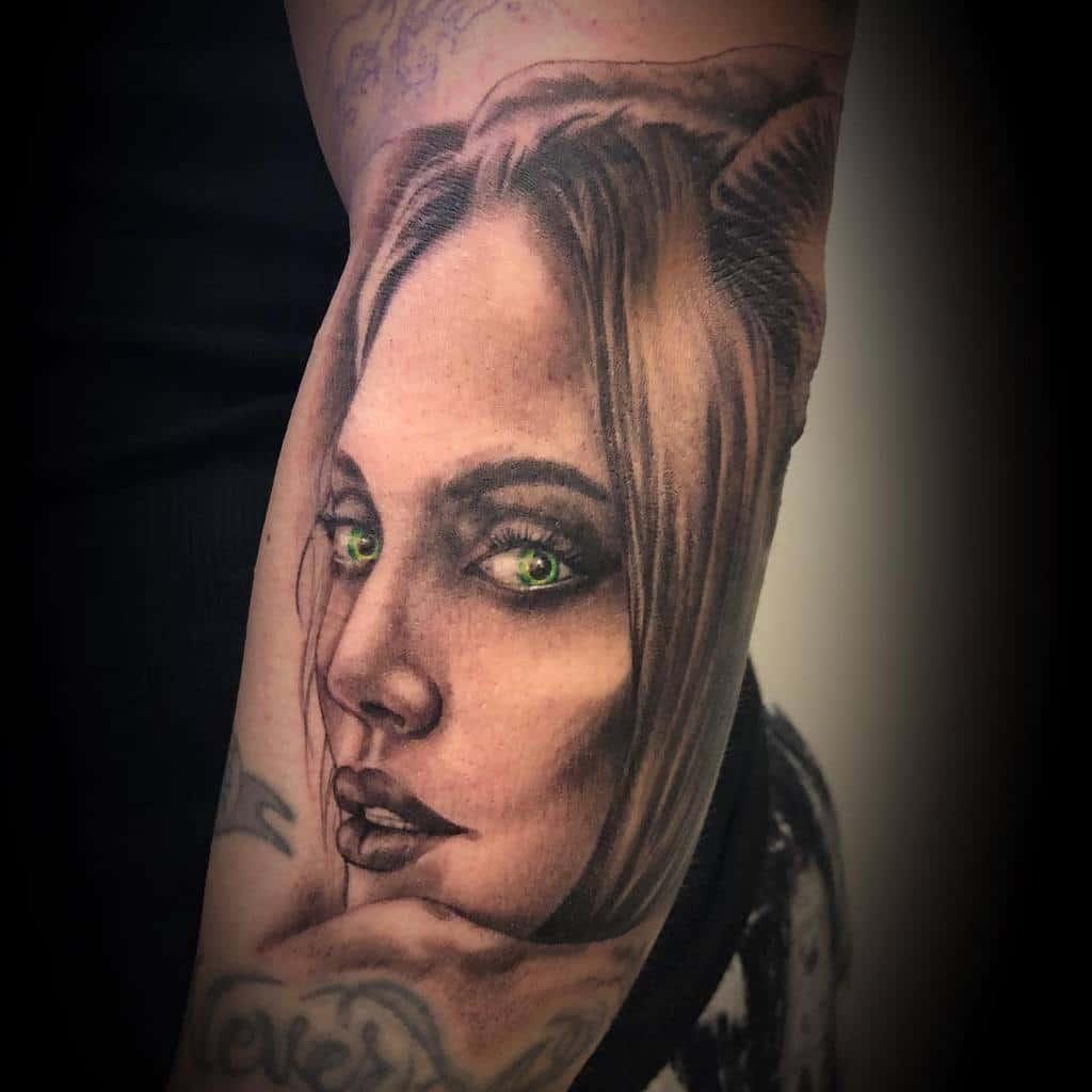 Realistic Maleficent Tattoos Toxic30