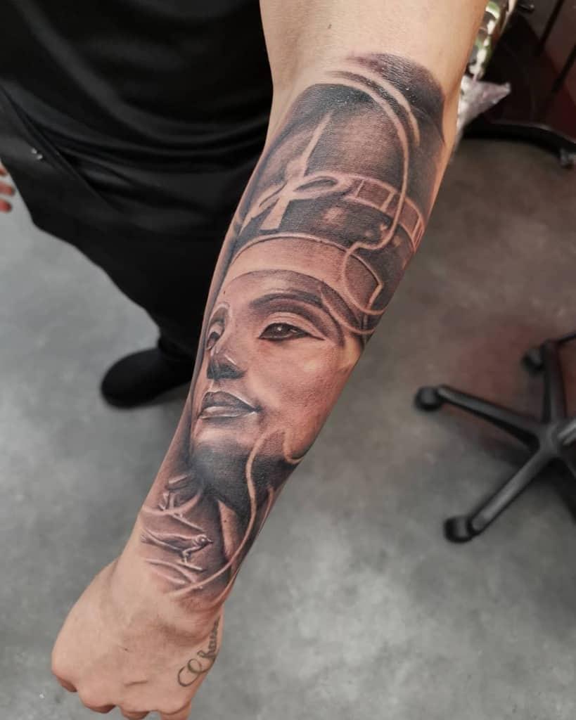 Realistic Nefertiti Tattoos Tattoo.bit