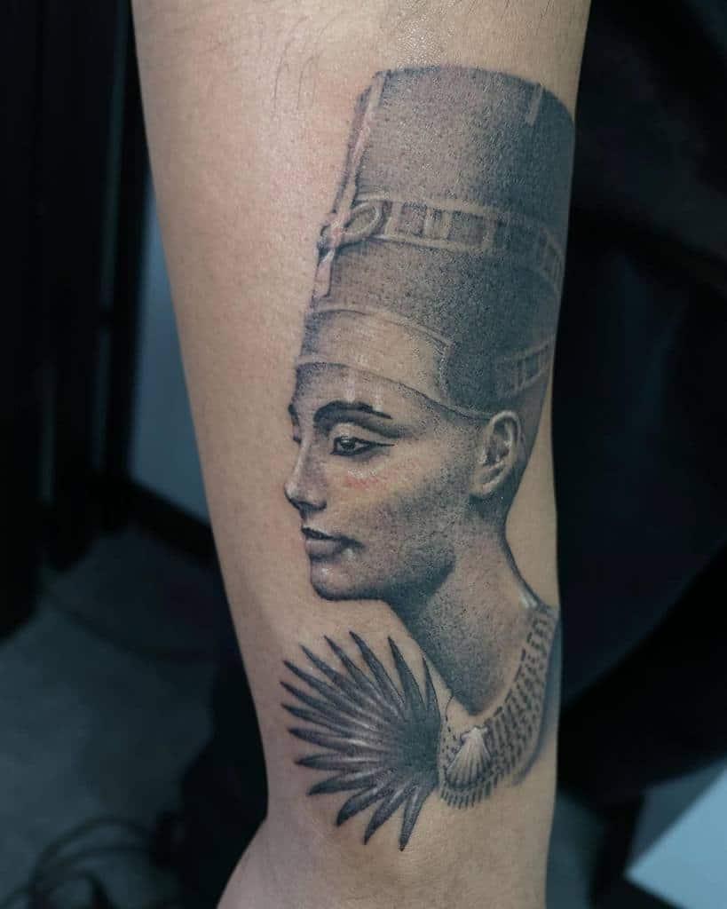 Realistic Nefertiti Tattoos Vk Illu Hontattoo