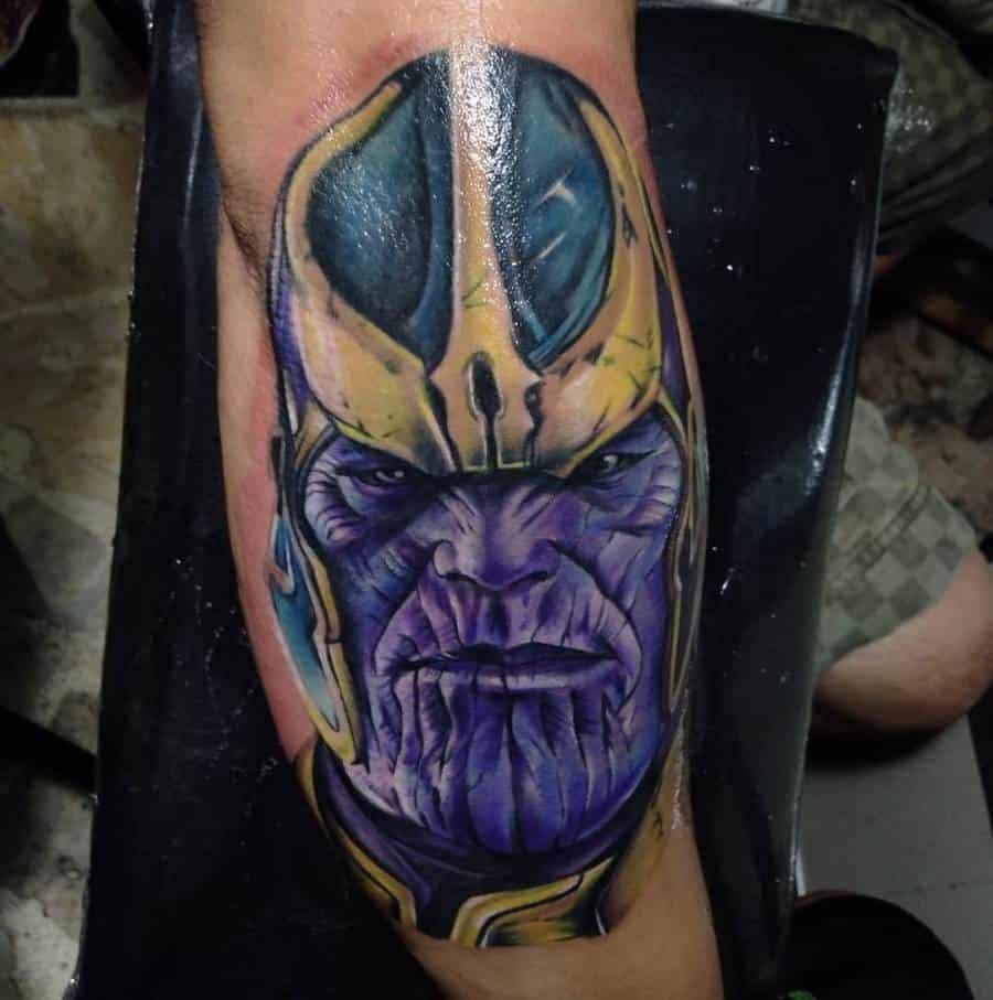 Realistic Realism Thanos Tattoo Aristotletattoo