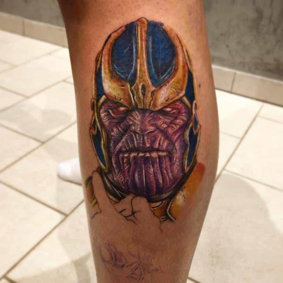 Realistic Realism Thanos Tattoo Mazierotattoo