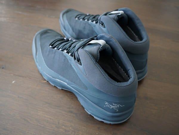 Rear Heel Arcteryx Aerios Fl Mid Gtx Shoes