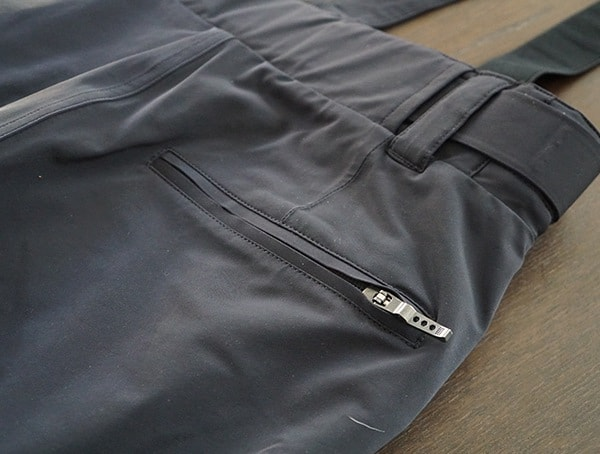 Rear Pocket Zipper Closed Descente Swiss Ski Team Pant