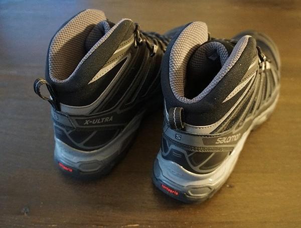 Rear Salomon X Ultra Mid 2 Spikes Gtx Guys Hiking Shoe