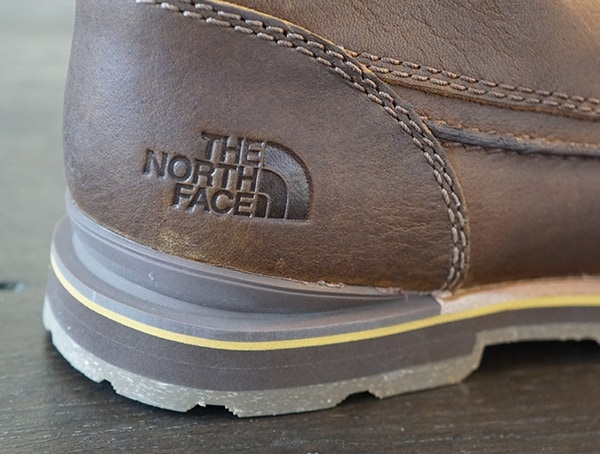 Rear The North Face Mens Bridgeton Chukka Boots