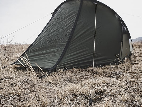 Rear View Snugpak Scorpion 3 Tents Reviews
